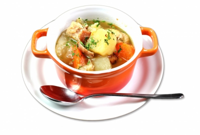 Soup of chicken and vegetables (Special Morning)