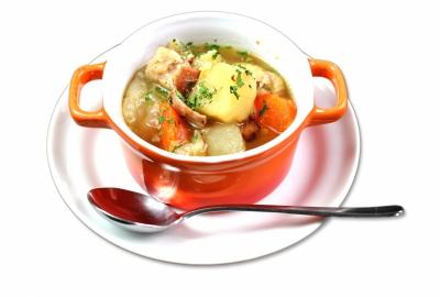 色々野菜と鶏肉のボッリート(スペシャルモーニング)